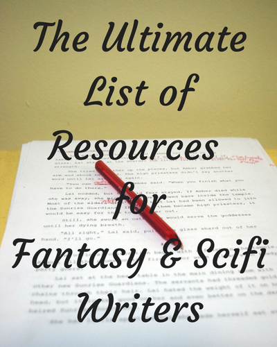 Ultimate Resource Guide Scifi and Fantasy Writers