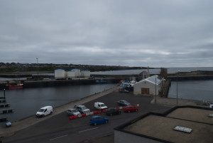 This is the other side of the view from our Bed and Breakfast in Wick.