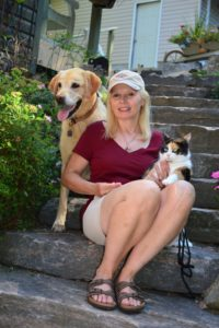 Sharon Ledwith and pets _3